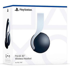 AURICULARES HEADSET WIRELESS SONY PULSE 3D BLANCO PS5 NUEVO PLAYSTATION 5