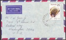 1975 Commercial Cover With 25c Anteater Solo Addressed To Usa (Ru2923)