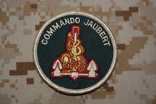 Z737 écusson insigne patch armée militaire Commando Jaubert Marine