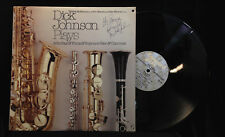 Dick Johnson-Plays-Concord 107-AUTOGRAPHED