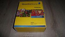 Rosetta Stone - logiciel d'apprentissage FRANCAIS totale - level 1 2 3 - scellé