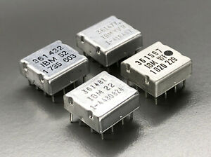 IBM System/360 4 Solid Logic Technology Chips (NOS,361432,361477,361481,361597,1