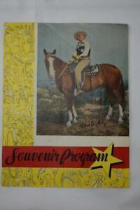Vintage Gene Autry Souvenir Program