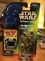 Endor Rebel Soldier Action Figure POTF2 Freeze Frame Star Wars 1997 Sealed Rifle