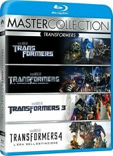 TRANSFORMERS 1 2 3 4 - Quadrologie - Blu-ray - Deutscher Ton - NEU + OVP Box 1-4