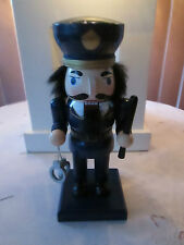 Decorative Policeman Nutcracker with Handcuffs and Club, New Last 1