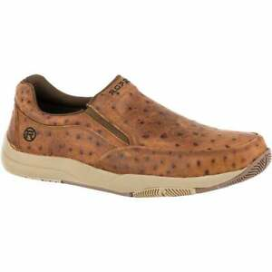 Roper Ulysess Slip On  Mens  Casual Shoes    - Brown