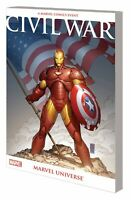 CIVIL WAR MARVEL UNIVERSE TP NEW PTG MARVEL COMICS TPB NEW