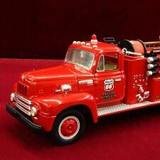 NEW - PHILLIPS 66 KS.CTY. REFINERY - 1957 INTERNATIONAL FIRETRUCK - First Gear