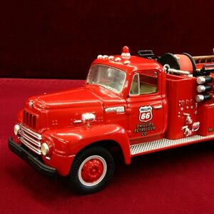 NEW - PHILLIPS 66 KS.CTY. REFINERY - 1957 INTERNATIONAL FIRETRUCK - First Gear
