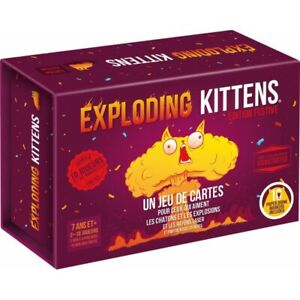Exploding Kittens  Edition Festive FR Asmodee{ }ekek04fr