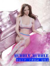"1/6 Bra Top Underwear Stockings Set For 12"" PHICEN Hot Toys Female Figure ☆USA☆"