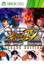 SUPER STREET FIGHTER IV ARCADE EDITION XBOX 360 - NEW & SEALED