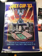 RARE Winnipeg - 1993 Grey Cup Champions Poster CFL P1