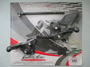 Valter Moto Type 2.5 Adjustable Rearsets for Ducati 749 & 999 2003-2006