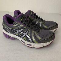 ASICS Women's Gel Exalt Purple Gray Running Sneakers Shoes Size 7 - T379N.