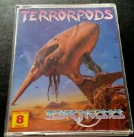TerrorPods. Commodore Amiga Classic Game Box Map + Instruction Sheet. Working 👍