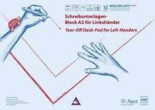Schreibunterlage für Linkshänder / Dr. Sattler / Block A3 / 20 Blatt