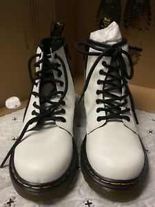 Dr. Martens Junior 1460 Softy T Leather Lace Up Boots [1] *PRE-OWNED*