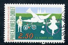 STAMP / TIMBRE FRANCE OBLITERE N° 2690  PHILEXJEUNES 91 CHOLET