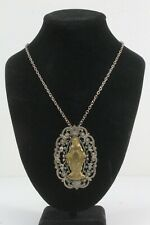 Antique 1830 Mary Necklace Pendant.