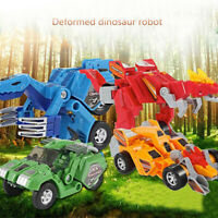 Kids Toy Transformer Robot-Car Dinosaur Robokar Anime Figurine Christmas Gift UK