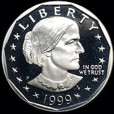1999-P Susan B. Anthony $1 One Dollar United States US Proof Coin Low Mintage