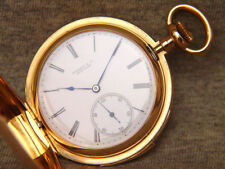 1889  Patek Philippe / Tiffany  pink 18k hunter case minute repeater