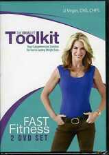 The Virgin Diet Toolkit Fast Fitness 2 DVD Set JJ Virgin Lasting Weight Loss