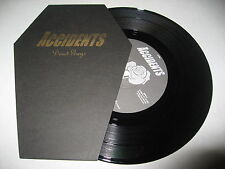 """Accidents Dead Guys Oboy Tonight 2004 Metal Rock Die-Cut RARE Punk Record 7"""""""