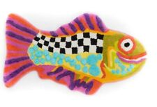 MacKenzie-Childs Happy Fish Bath Mat