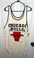 Vintage Chicago Bulls Tank Top Jersey Shirt Dodger Official NBA Rare NWT