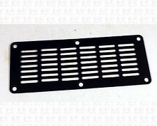 Small Guitar Amplifier Black Steel Metal Grille Vent 5.8 X 2.3 Inches