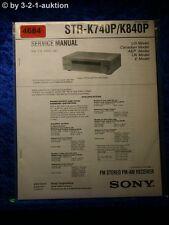 Sony Service Manual STR K740P /K840PFM/AM Receiver  (#4684)
