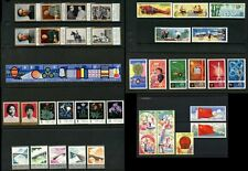 CHINA 1976-79 MINT 9 SETS 40 STAMPS