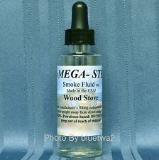 Mega Steam WOOD STOVE Smoke Fluid For Bachmann Steam Diesel G O O27 HO N Engine