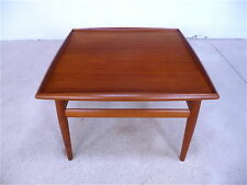 GRETE JALK Teak Couchtisch COFFEE TABLE table basse teck GLOSTRUP   60 60er 60s