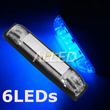 12V Blue 100MM LED Hard Strip Light Waterproof Car/RV/Boat/Marine/Camper Trailer