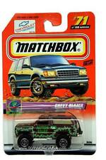 2000 Matchbox #71 On Tour Chevrolet Blazer 4x4 with 2000 logo