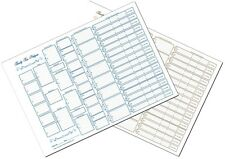 Family Tree Chart - Six Generation A3 (pack of 4)