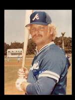 Bob Horner Hand Signed 8x10 Photo Autograph Atlanta Braves