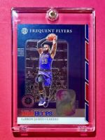 Lebron James FREQUENT FLYERS SPECIAL INSERT NBA HOOPS PREMIUM STOCK LAKERS Mint!