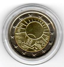 2 Euro Gedenkmünze Belgien 2013, Meteorologisches Instit, unzirkuliert in Kapsel
