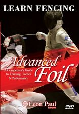 Learn Fencing - Advanced Foil - Competitive Level Instructional Dvd Leon Paul