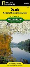 Ozark National Scenic Riverways    (National Geographic Map)  NG-032