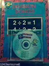 DIVISION SONGS Math Learning CD NIB