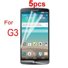 5X HD Clear Screen Protective Film For LG Optimus G3 D855 D850 Screen Protector