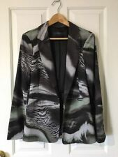 Animal Print Dry-clean Only Regular Coats & Jackets for Women