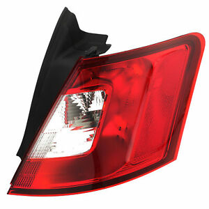 OEM NEW Right Passenger Outer Tail Light Backup Lamp 2010-2014 Ford Taurus
