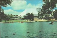 FESTIVAL THEATRE TORRENS RIVER ADELAIDE SA POSTCARD - NEW & PERFECT